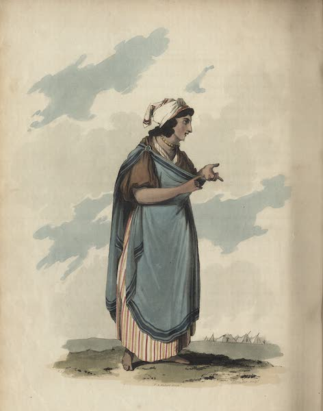 Travelling Sketches in Russia and Sweden Vol. 1 - A Bohemian or Gypsey (1809)