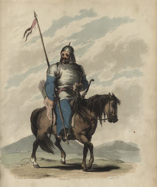 Travelling Sketches in Russia and Sweden Vol. 2 - A Bashkir Tropper (1809)