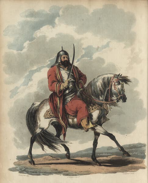 Travelling Sketches in Russia and Sweden Vol. 2 - The Chief of the Bashkirs (1809)