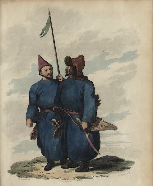 Travelling Sketches in Russia and Sweden Vol. 2 - Kirghises (1809)
