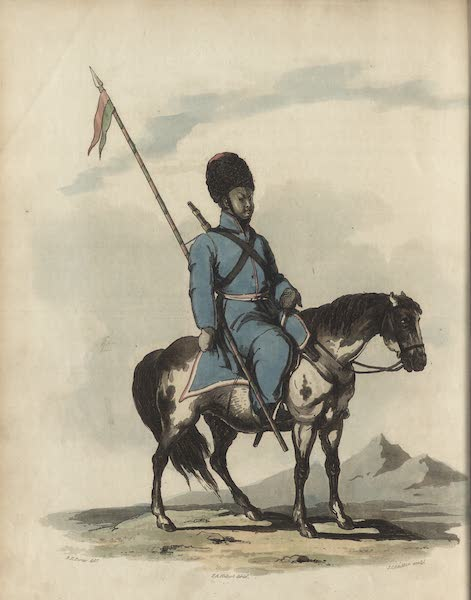 Travelling Sketches in Russia and Sweden Vol. 2 - A Kalmuc Horseman (1809)