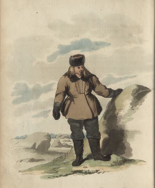 Travelling Sketches in Russia and Sweden Vol. 2 - A Peasant of Finland in His Winter Dress (1809)