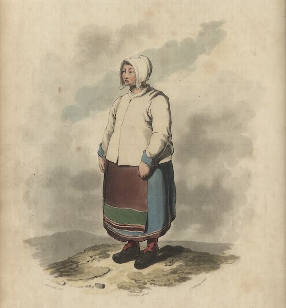Travelling Sketches in Russia and Sweden Vol. 2 - A Dalecarlian Female Peasant (1809)