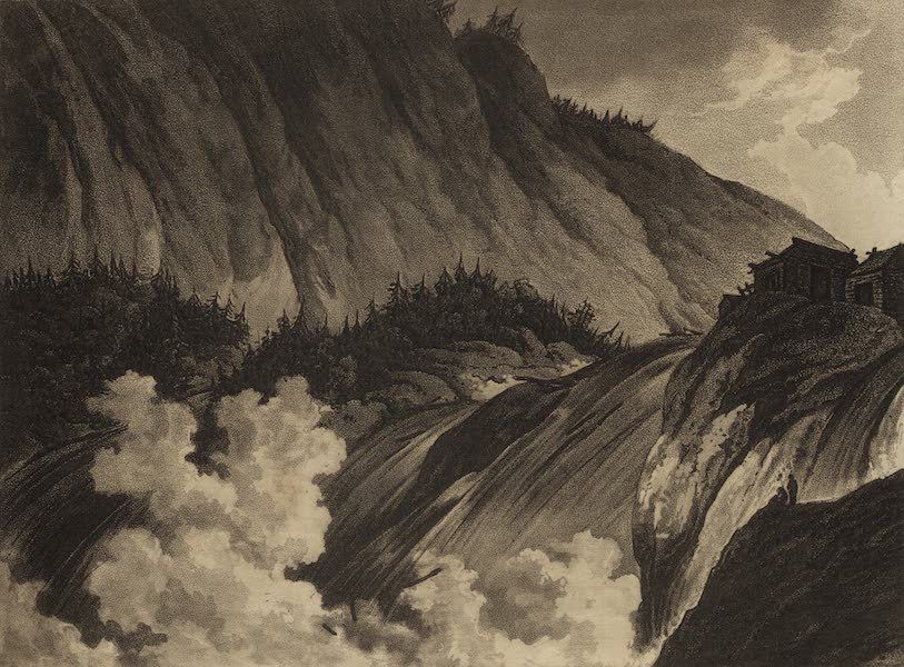Travelling Sketches in Russia and Sweden Vol. 2 - The Falls of Inthatta (1809)