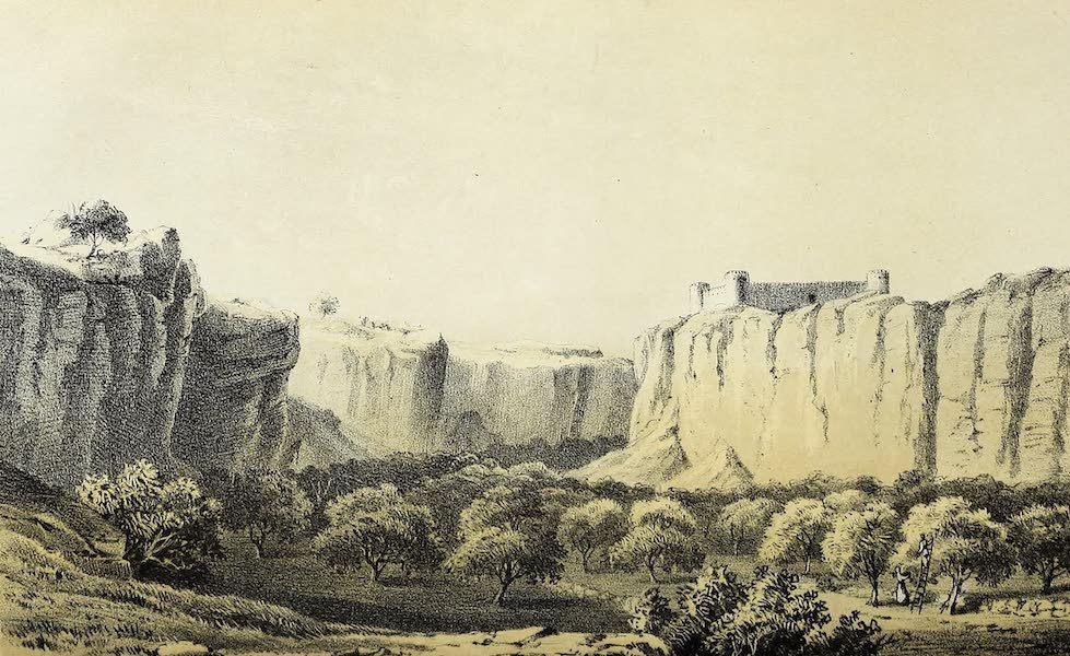 Travels and Discoveries in North and Central Africa Vol. 1 - Kasr Ghurian and W. Rummana (1857)