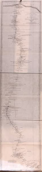 Travels and Discoveries in North and Central Africa Vol. 1 - Route from Tripoli to Murzuk (1857)