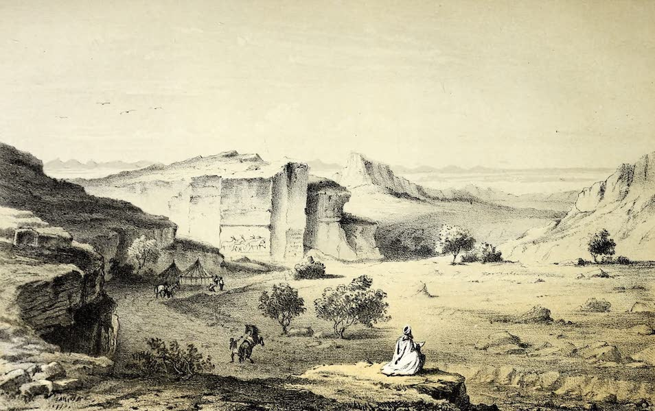 Travels and Discoveries in North and Central Africa Vol. 1 - Telisaghe (1857)