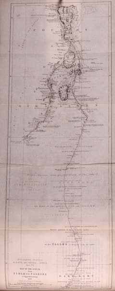 Travels and Discoveries in North and Central Africa Vol. 1 - Route from Tidik to Tagelel (1857)