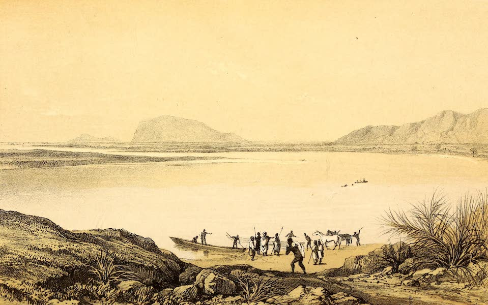Travels and Discoveries in North and Central Africa Vol. 2 - Tepe, the confluence of the Benuwe and Faro (1857)