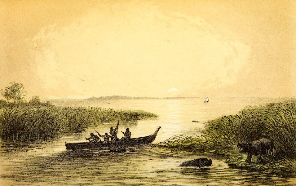 Travels and Discoveries in North and Central Africa Vol. 2 - Kalu-Keme, the open Water of the Tsad (1857)
