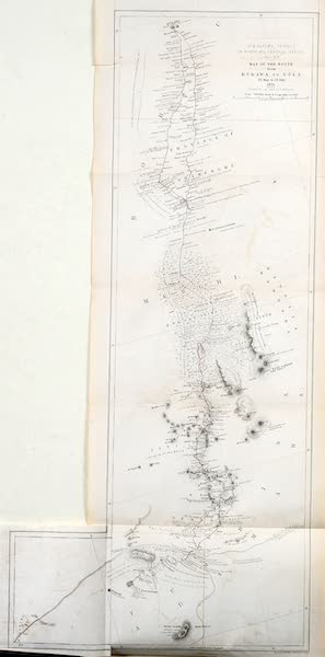 Travels and Discoveries in North and Central Africa Vol. 2 - Route from Kukawa to Yola (1857)
