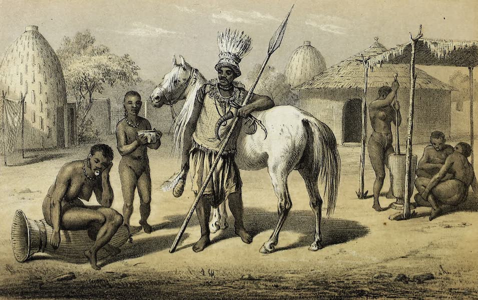 Travels and Discoveries in North and Central Africa Vol. 3 - Musgu Chief (1857)