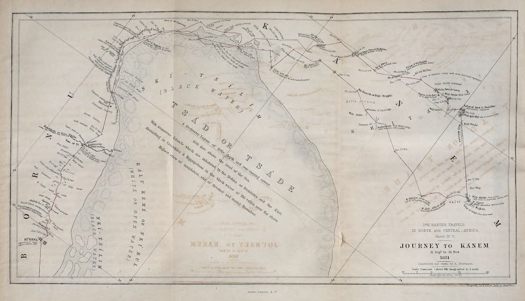 Travels and Discoveries in North and Central Africa Vol. 3 - Journey to Kanem (1857)