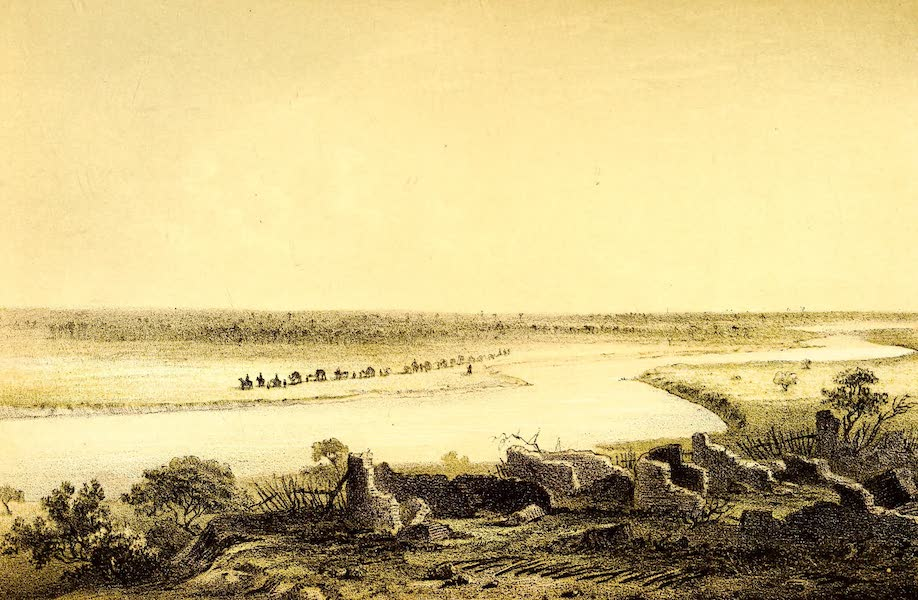 Travels and Discoveries in North and Central Africa Vol. 3 - Shallow Water (Ngaljam) at Demmo (1857)