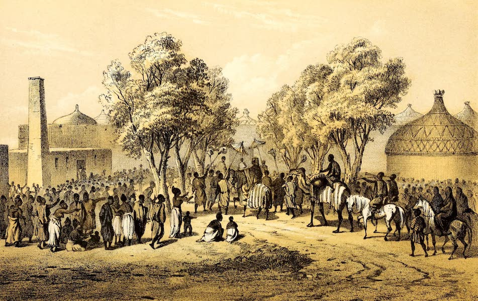 Travels and Discoveries in North and Central Africa Vol. 3 - Mas-ena, Return of the Sultan from the Expedition (1857)