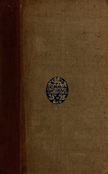 Travels in Brazil Vol. 1 - Front Cover (1824)