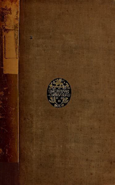 Travels in Brazil Vol. 2 - Front Cover (1824)