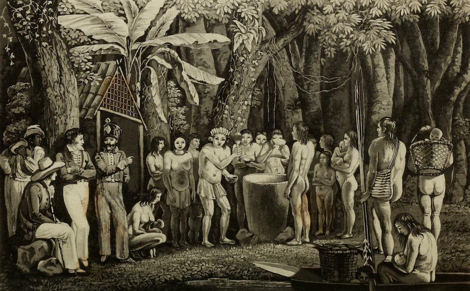 Travels in Brazil Vol. 2 - Festival of the Coroados (1824)