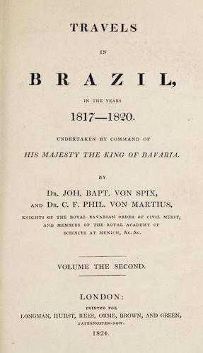 Travels in Brazil Vol. 2 (1824)