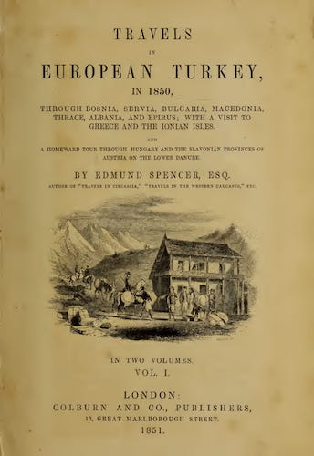 University of Toronto - Travels in European Turkey Vol. 1