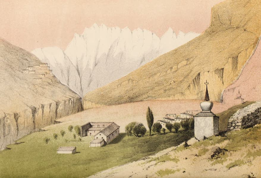 Travels in Ladak, Tartary, and Kashmir - Moravian Mission House (1862)