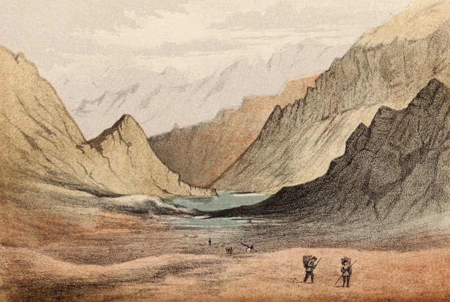 Travels in Ladak, Tartary, and Kashmir - Pass of Bara-Lacha (1862)