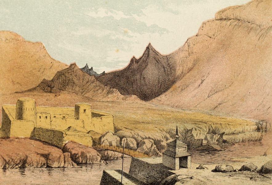 Travels in Ladak, Tartary, and Kashmir - Bridge over the Indus, Ladak (1862)