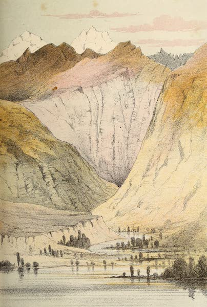 Travels in Ladak, Tartary, and Kashmir - View looking up the Suru River (1862)