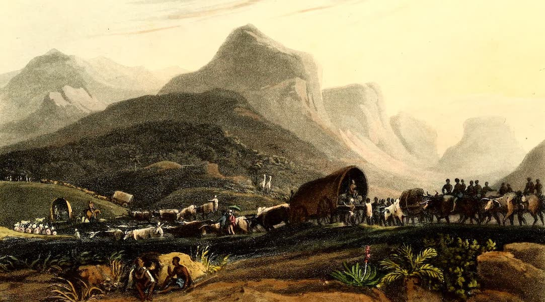 Travels in South Africa Vol. 1 - The Author's method of Travelling in the interior of South Africa (1822)