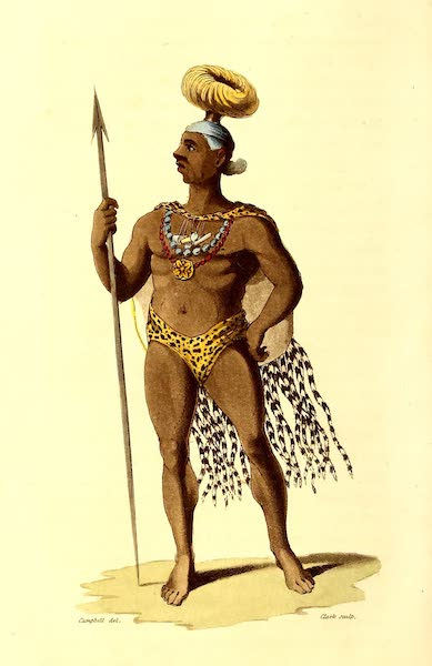 Travels in South Africa Vol. 1 - Liqueling, Regent of the Marootzee Nation (1822)