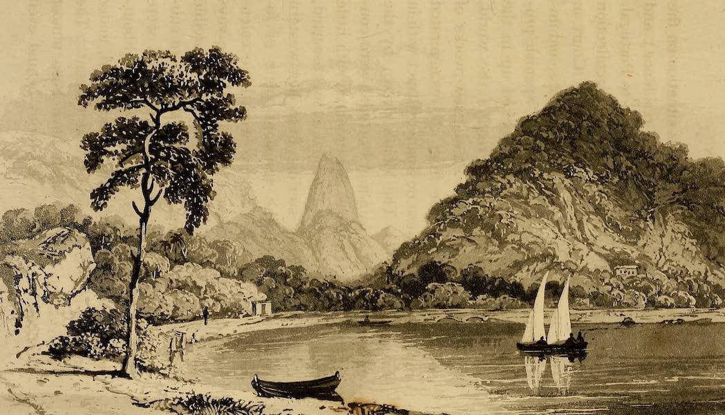 Travels in South America Vol. 1 - Lagoa, Rio de Janeiro, Pao de Asucar in the distance (1825)