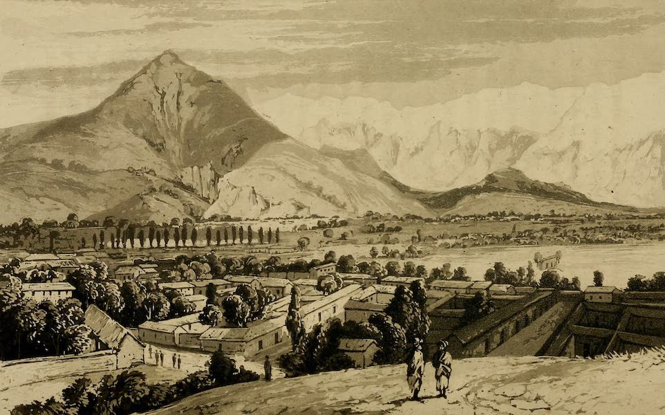 Travels in South America Vol. 1 - View of the Great Chain of the Andes taken from the Plain of the Maypu (1825)