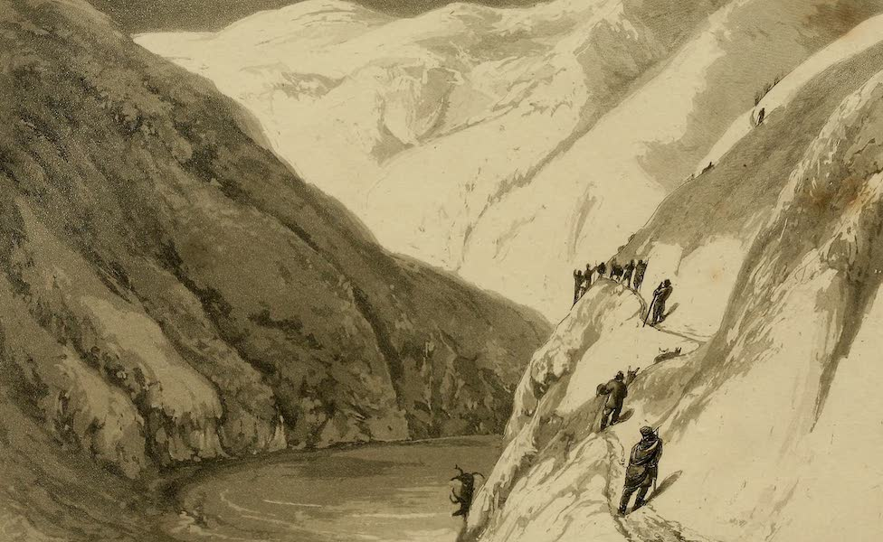 Travels in South America Vol. 2 - Crossing the Cordillera on the 1st of June (1825)