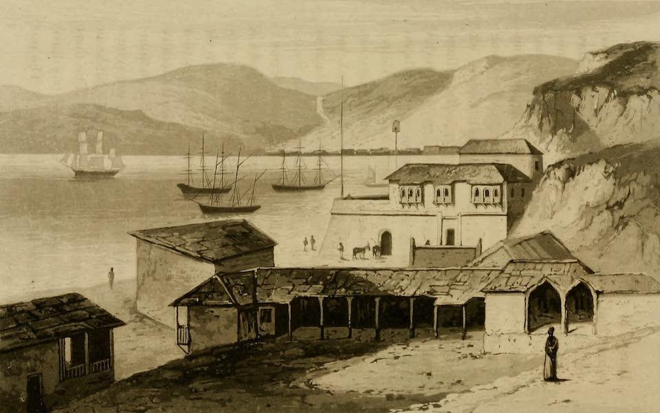 Travels in South America Vol. 2 - Valpariso Bay (1825)