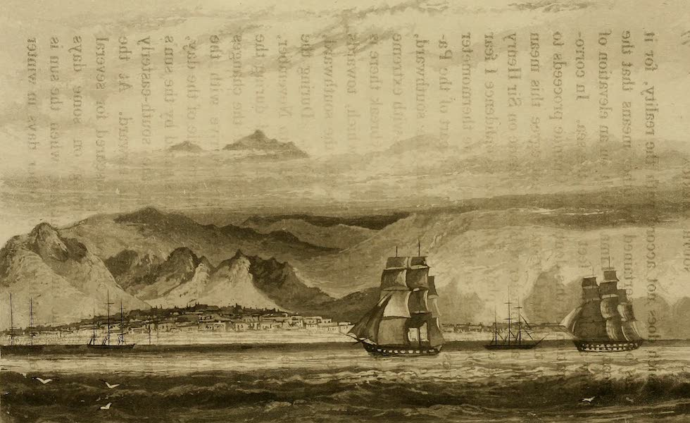 Travels in South America Vol. 2 - View of Lima from the Sea near Callao (1825)