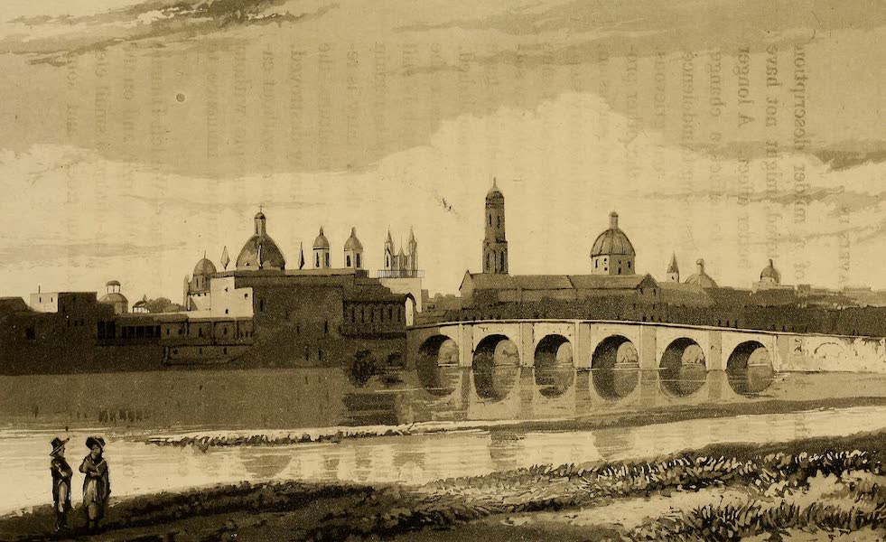 Travels in South America Vol. 2 - Lima with the Bridge over the Rimac (1825)