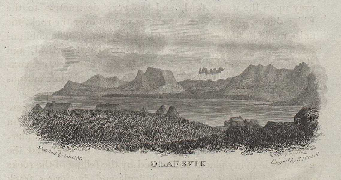 Travels in the Island of Iceland - Olafsvik (1811)