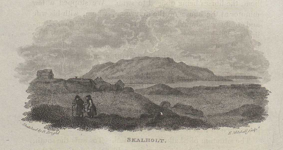 Travels in the Island of Iceland - Skalholt (1811)