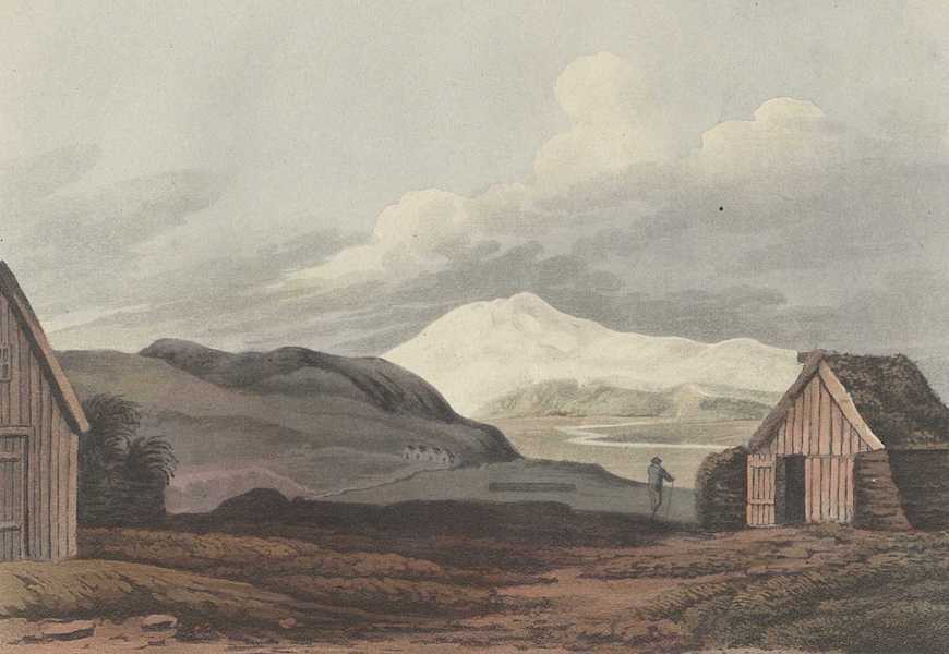 Travels in the Island of Iceland - Eyafialla Iokul from Hliderende (1811)