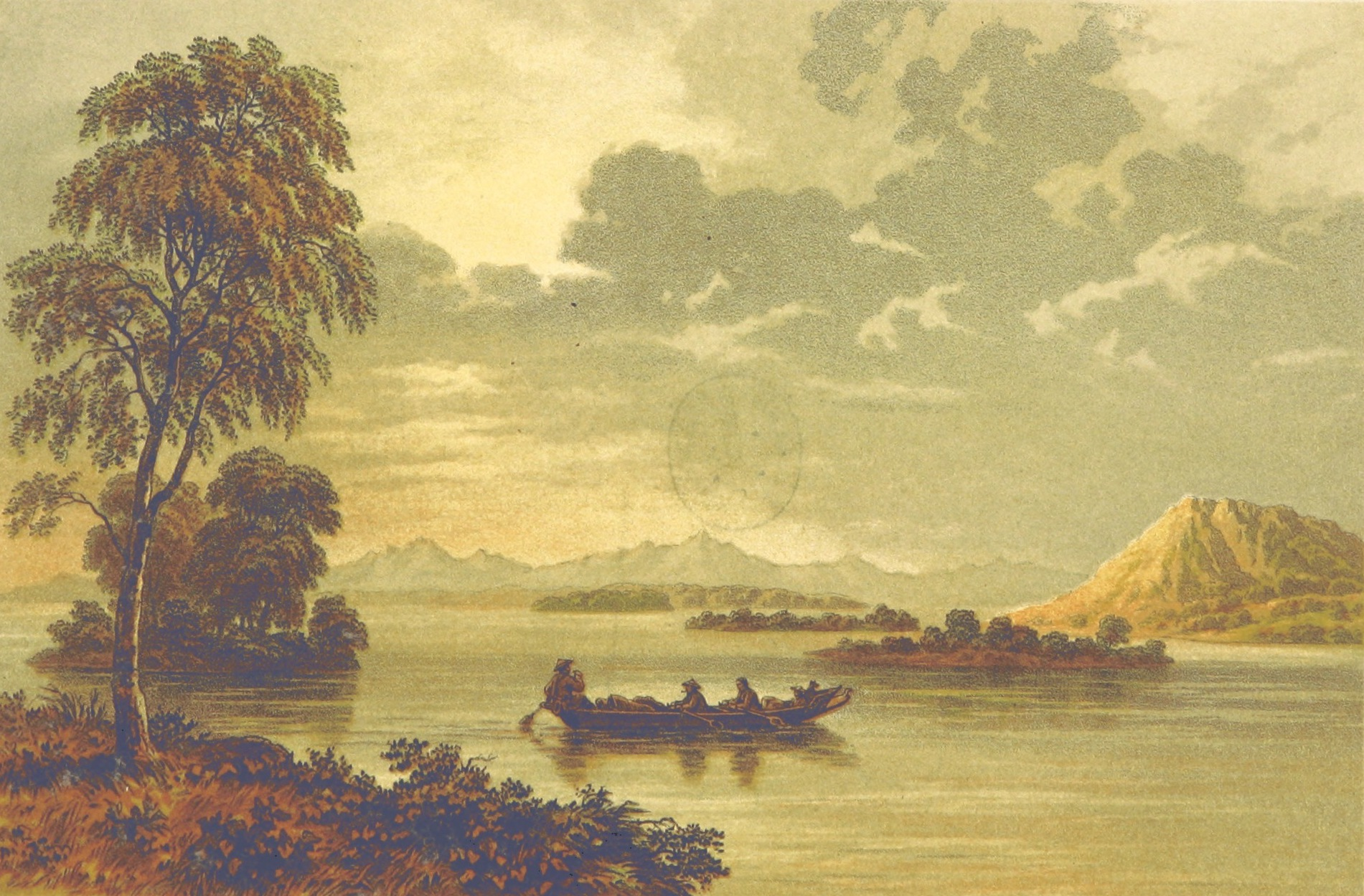 Travels in the Regions of the Upper and Lower Amoor - A view on the Amoor (1860)