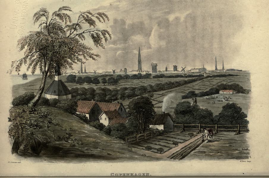 Travels Through Part of the Russian Empire - Copenhagen (1815)
