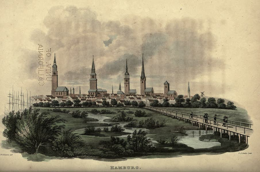 Travels Through Part of the Russian Empire - Hamburg (1815)