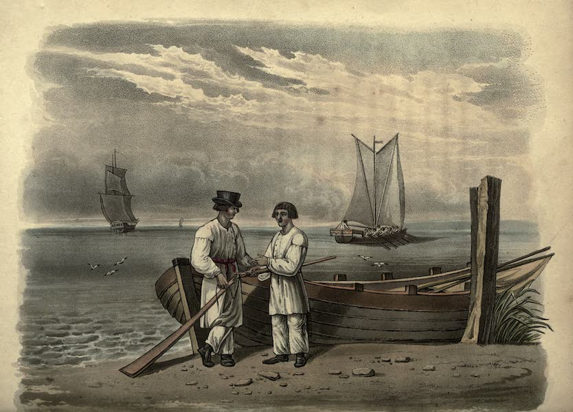 Travels Through Part of the Russian Empire - Cronstadt Boatmen (1815)
