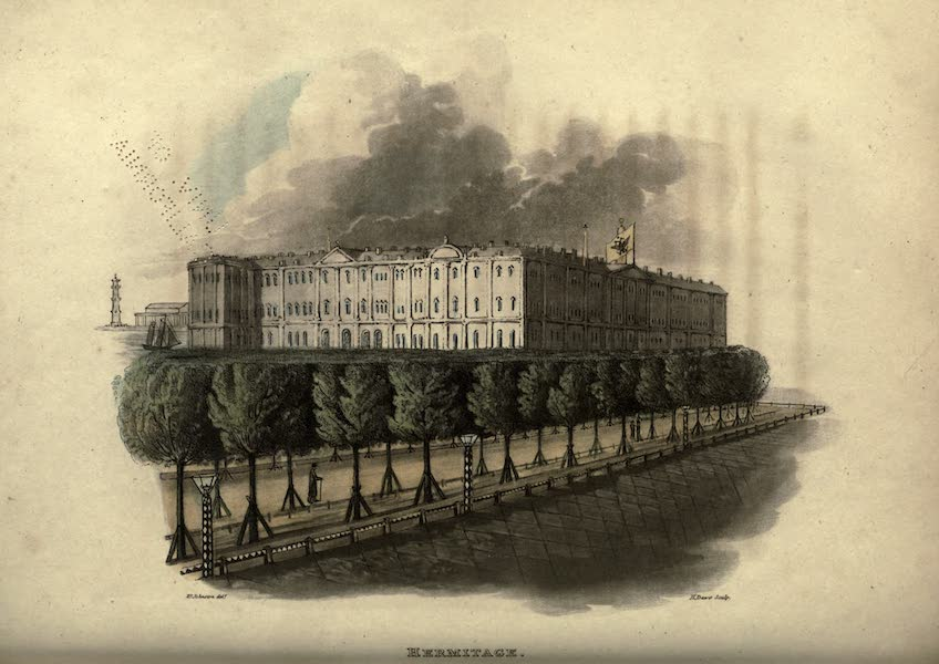 Travels Through Part of the Russian Empire - Hermitage (1815)