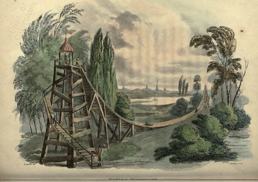 Travels Through Part of the Russian Empire - Flying Mountain (1815)