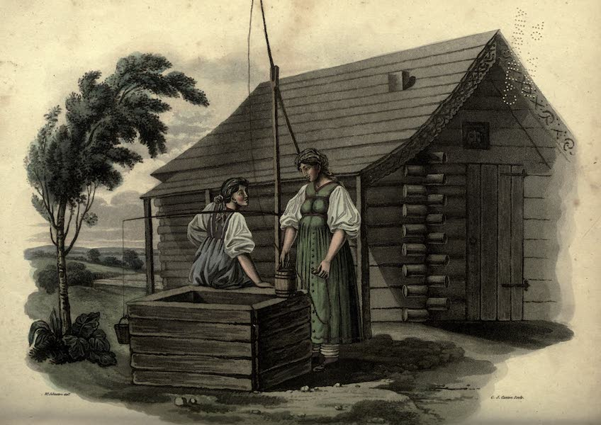Travels Through Part of the Russian Empire - Females in the Govt of Novogorod (1815)