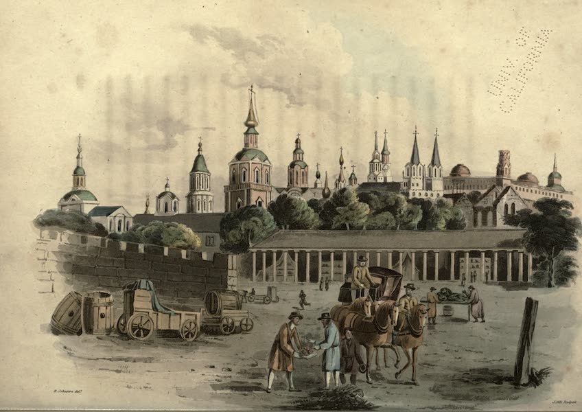 Travels Through Part of the Russian Empire - Moscow (1815)