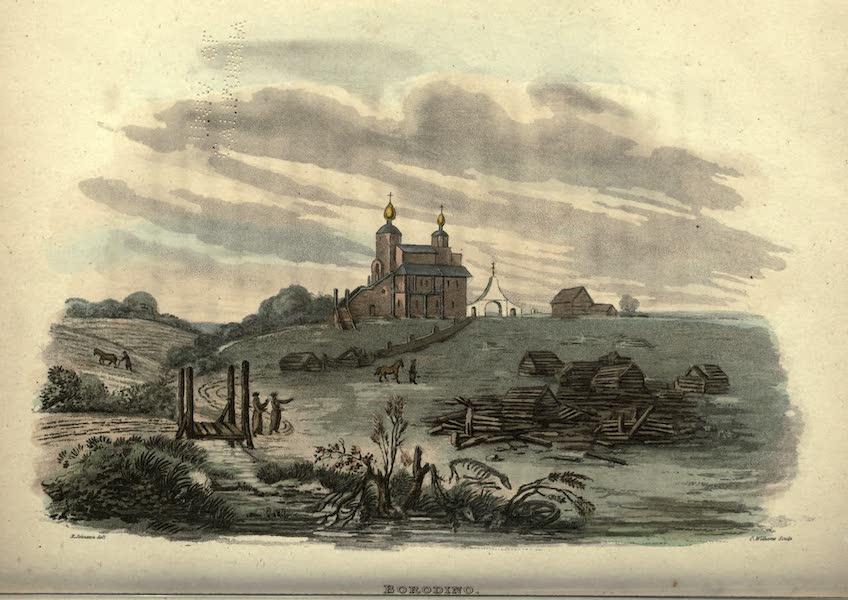 Travels Through Part of the Russian Empire - Borodino (1815)