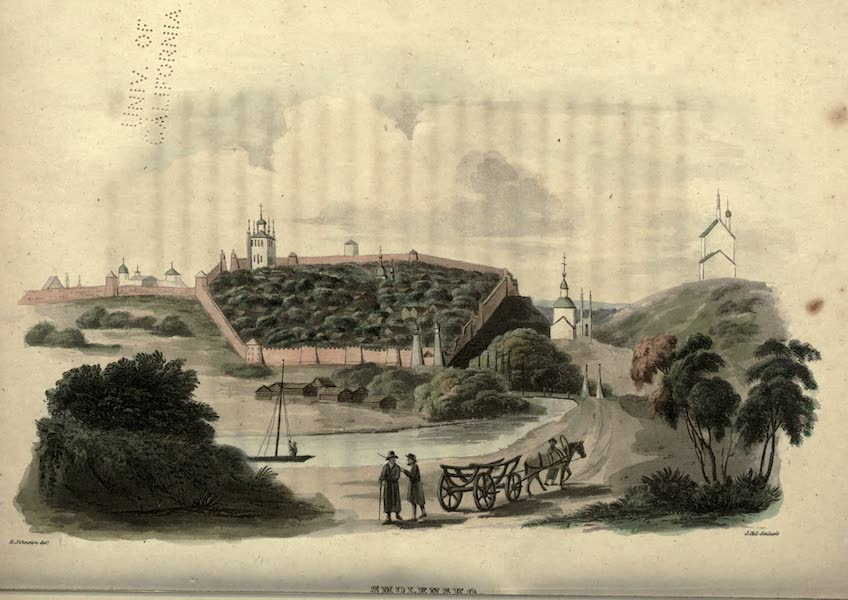 Travels Through Part of the Russian Empire - Smolensko (1815)