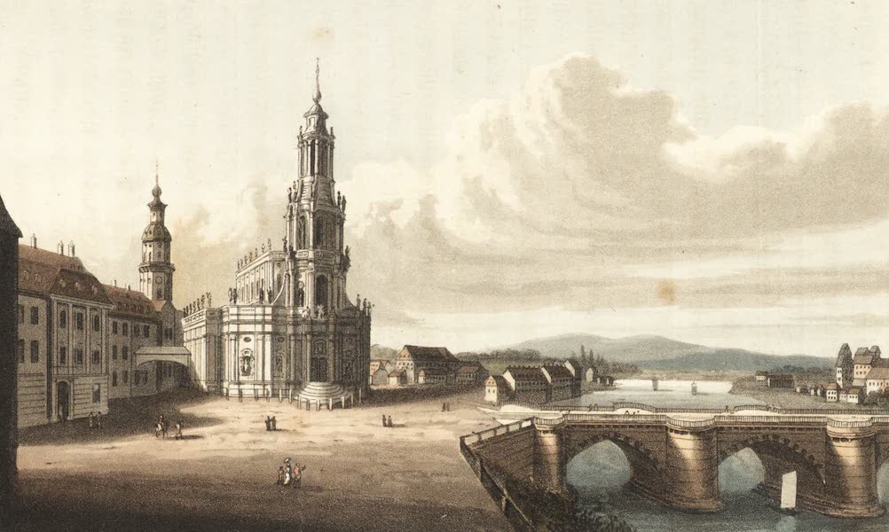 Travels Through Some Parts of Germany, Moldavia and Turkey - Dresden (1818)